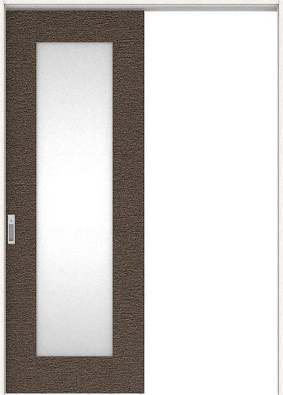 ハピアプレミア 吊戸・片引 5Pデザイン扉セット  錠付・明かり窓なし リアーピダーク 大建工業の建具