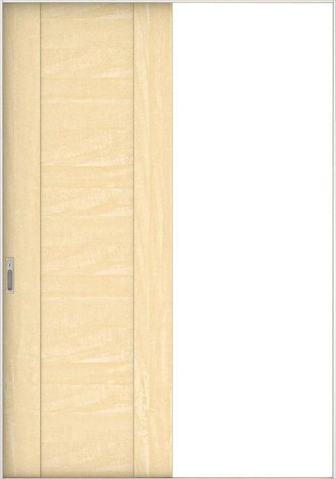 店舗受け取り限定 日本の樹 引戸・片引 1Jデザイン扉セット  錠付・明かり窓なし 栃 大建工業の建具