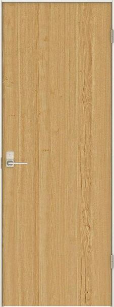 店舗受け取り限定 日本の樹 片開きドア 0Jデザイン扉セット 2000高 栗 鍵付き 大建工業の建具