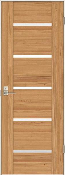 店舗受け取り限定 日本の樹 片開きドア 3Jデザイン扉セット 2000高 杉 鍵付き 大建工業の建具