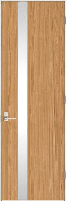 日本の樹 片開きドア 4Jデザイン扉セット 2300高 杉 鍵付き 大建工業の建具