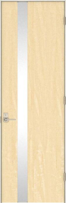 日本の樹 片開きドア 4Jデザイン扉セット 2300高 栃 鍵付き 大建工業の建具