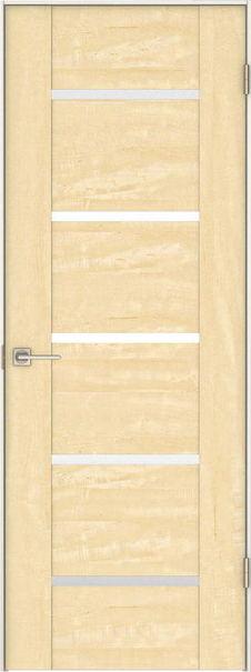 店舗受け取り限定 日本の樹 片開きドア 3Jデザイン扉セット 2000高 栃 鍵なし 大建工業の建具