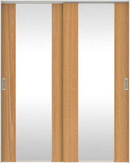 日本の樹 吊戸・引違 2Jデザイン扉セット 2000高 1645幅 杉 大建工業の建具