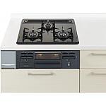 ガス W600ホーロートップ片面焼黒 パナソニック ラクシーナ リビングステーション リフォムスなどのキッチン周り商品 QSEG32N1NLP