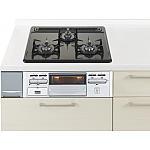 ガス W600ホーロートップ片面焼銀 パナソニック ラクシーナ リビングステーション リフォムスなどのキッチン周り商品 QSSG32N1NLP