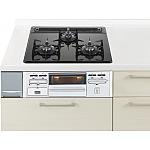 ガス W600ガラストップ片面焼銀 パナソニック ラクシーナ リビングステーション リフォムスなどのキッチン周り商品 QSSG32N3NA13A