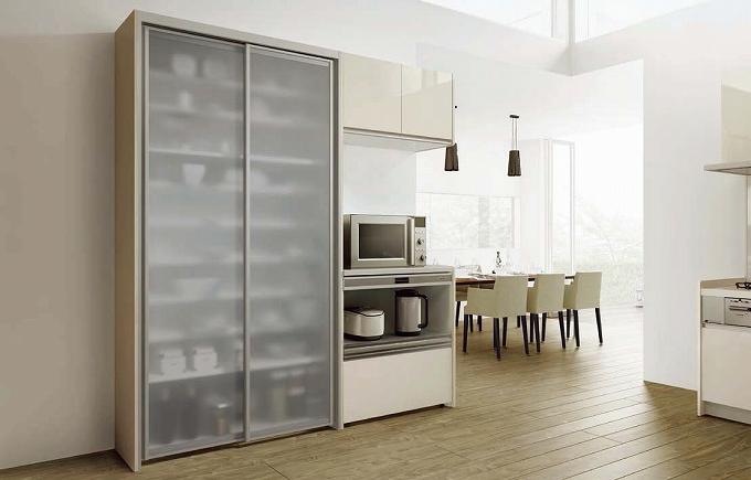 システムキッチン シエラ PLAN04 収納部 カップボードのみ サンウェーブ リクシル