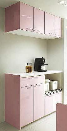 システムキッチン シエラ PLAN10 収納部 カップボードのみ サンウェーブ リクシル
