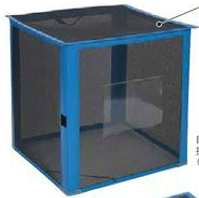ゴミ箱 屋外 テラモト DS-261-012-9 自立ゴミ枠 折りたたみ式 黒 340L カラスよけ 網 屋外用ダストボックス 業務用ゴミ箱 分別 大型 外置き カラス除け 猫除けに