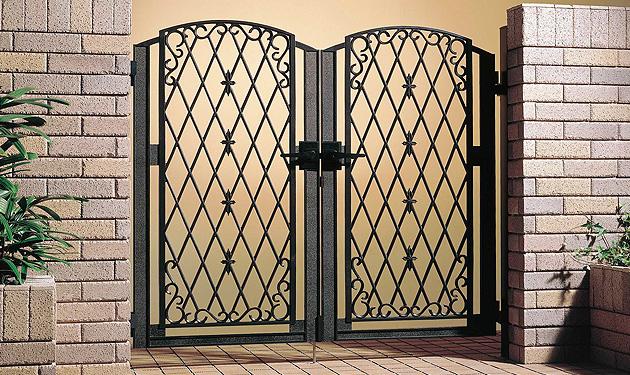 ファンタジア 鋳物門扉 両開きセット
