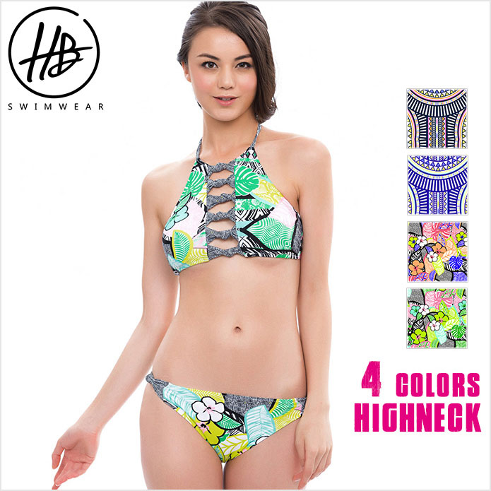 170df569c40 Bikini adult sexy swimsuit bikini two points set SummerQueen which the  latest swimsuit Highneck Bikini high ...