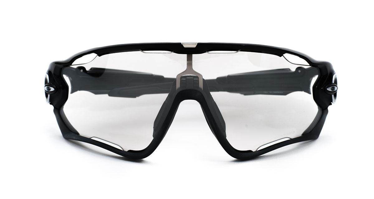 49ac8e4160 Oakley sunglasses sports sunglasses OAKLEY OO9290-14 JAWBREAKER ditch rack   Clear Black Iridium Photochromic Lady s men to polish