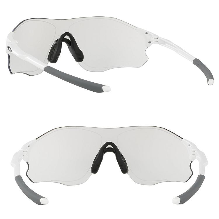 94453fd3d9 Oakley sunglasses sports sunglasses OAKLEY OO9313-06 (A) Asia fitting EVZERO  PATH Matte White Clear Black Iridium Photochromic Lady s men