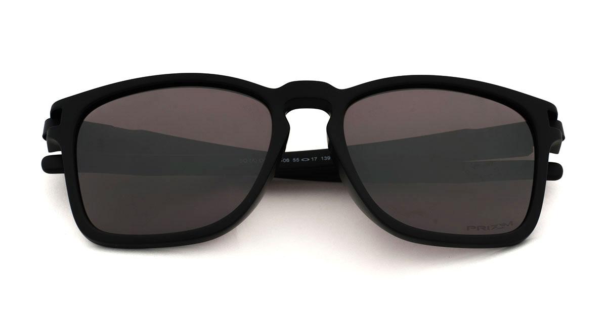 c01e35c9fc Oakley sunglasses sports sunglasses OAKLEY OO9358-06LATCH latch Asia  fitting Asia Fit SQ Matte Black Prizm Daily Polarized Lady s men