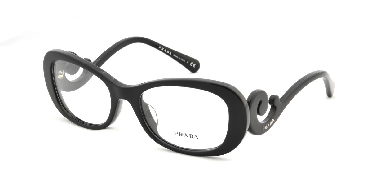 Sunglass Online: Prada glasses frame PRADA PR09PVA 1AB1O1 glasses ...