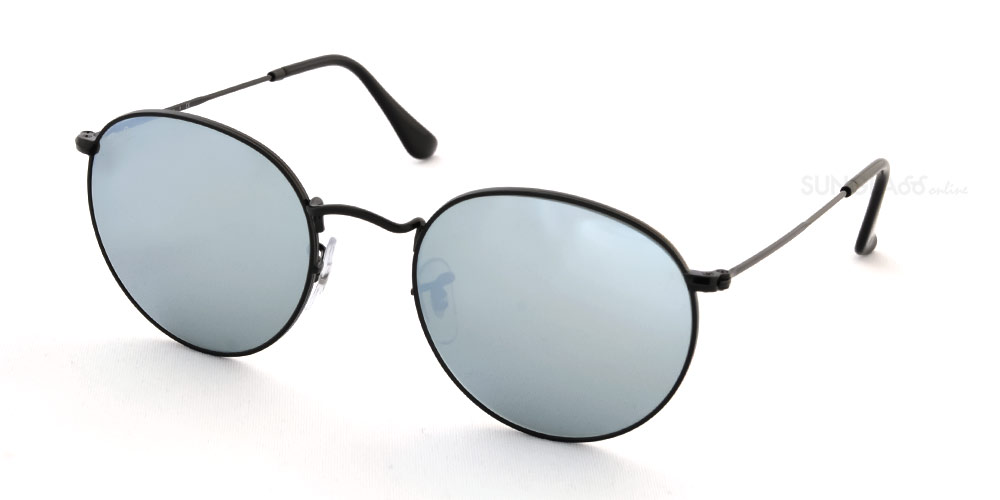 89621d1965 Ray-Ban sunglasses RB3447 002 30 002 30 53 size Ray-Ban round metal mirror  RX3447 002 30 53 size Lady s men