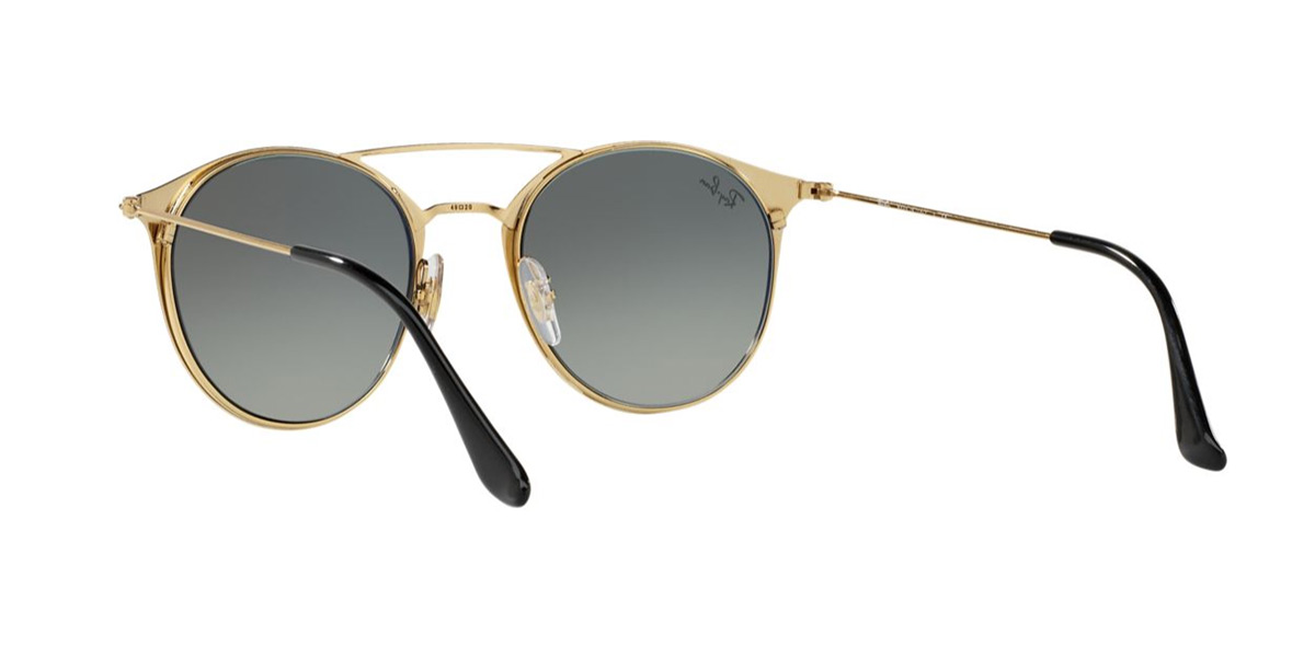 61de8a15365 Ray-Ban RB3546 187 71 187 71 52 size Ray-Ban round double bridge RX3546 187  71 52 size sunglasses Lady s men