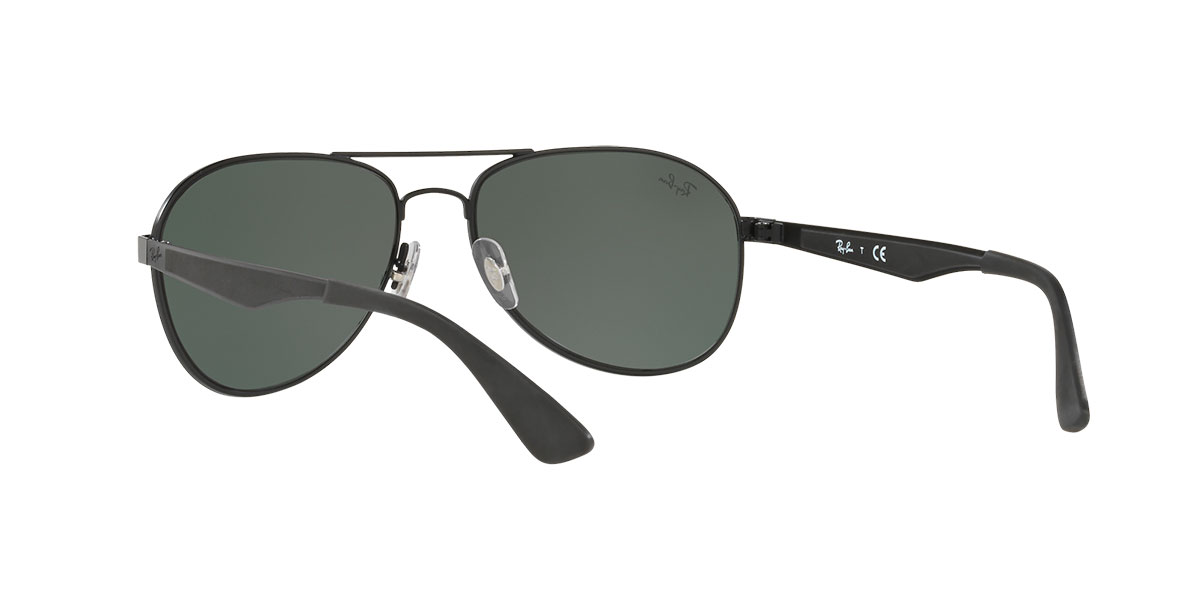 a2b46a501e ... canada new ray ban sunglasses ray ban rb3549 006 71 black green classic  ladies men edb22