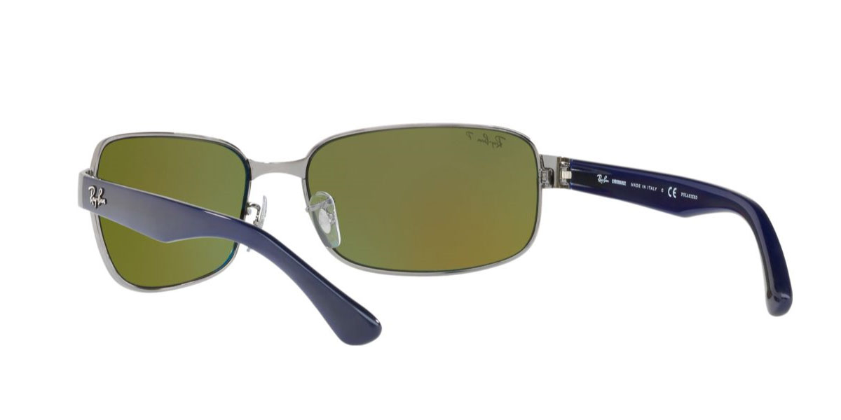 e450b2010a Ray-Ban sunglasses RB3566CH 004 A1 RB3566CH 65 size 2018NEW new work  polarizing lens chroman mirror square Ray-Ban RX3566CH 004 A1 65 size  Lady s men