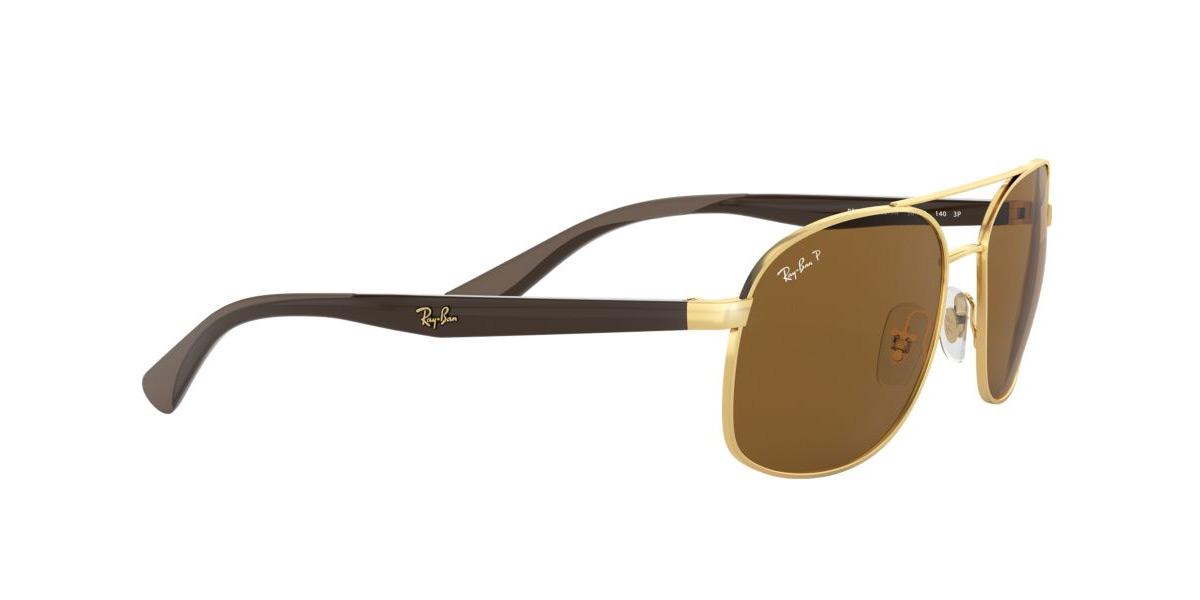 14113f491ab12 Ray-Ban sunglasses RB3593 001 83 58 size polarizing lens square shape Ray- Ban RX3593 001 83 58 size sunglasses men gap Dis polarization sunglasses