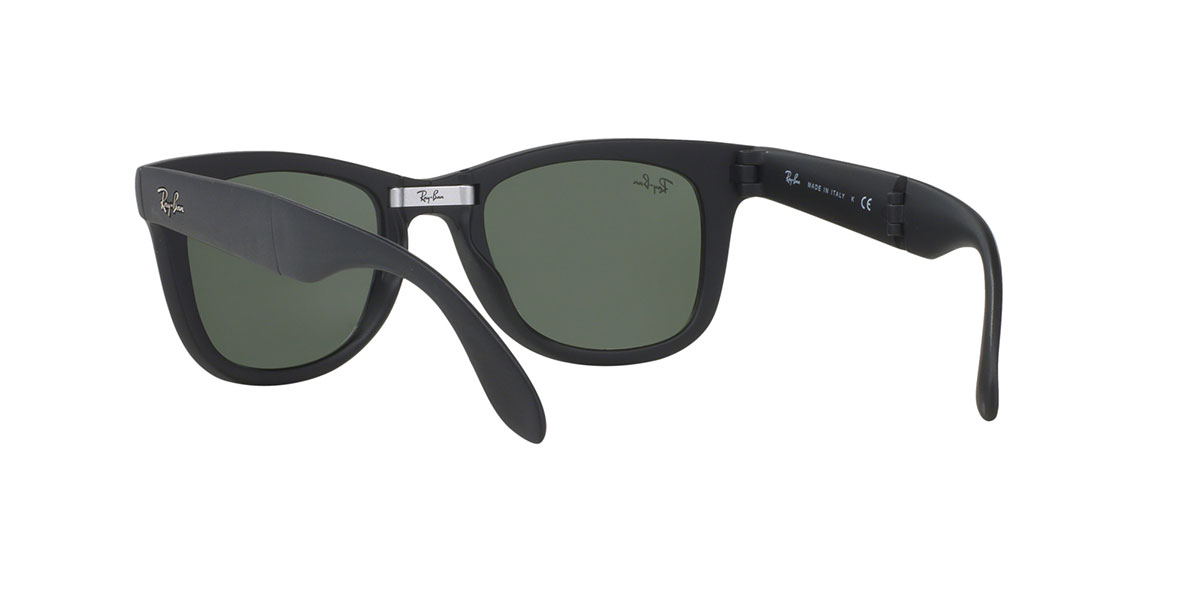 d7a4c282d4 Ray-Ban RB4105 601S 50 size Ray-Ban way Farrar folding mat black folding  RX4105 601S sunglasses Lady s men