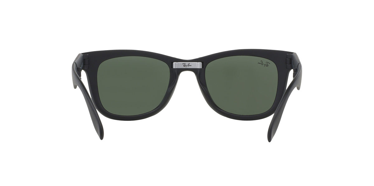 df4e5a10a0 Ray-Ban RB4105 601S 50 size Ray-Ban way Farrar folding mat black folding  RX4105 601S sunglasses Lady s men