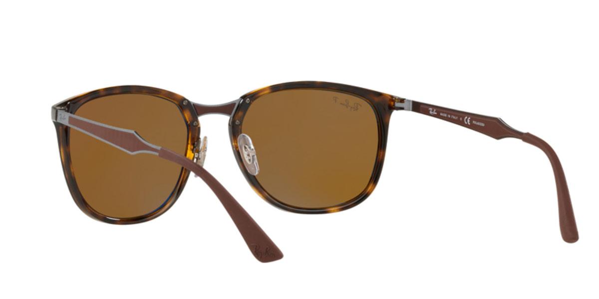 20f8f8f5c9 Ray-Ban sunglasses RB4299 710 83 RB4299 56 size Pau tea-style square  polarizing lens Ray-Ban RX4299 710 83 56 size Lady s men polarization  sunglasses