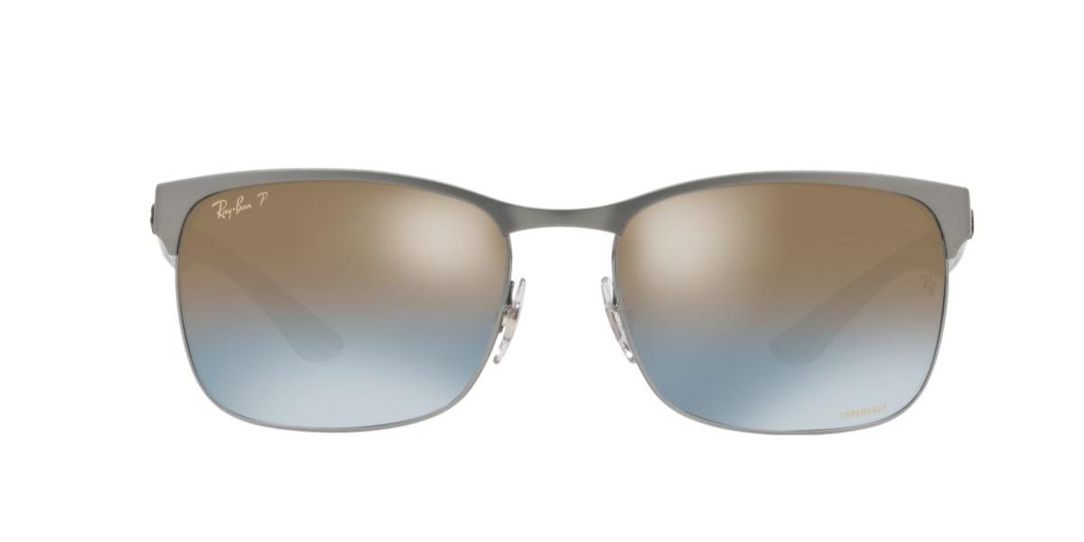 15ff90ecb2 Ray-Ban RB8319CH 9075J0 60 size Ray-Ban chroman lens polarization レンズレクタングル  RX8319CH 9075J0 sunglasses men
