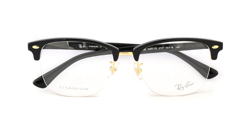 02a608eca2 Ray-Ban RX5357TD 5707 55 size Ray-Ban Ray-Ban glasses frame Asia design  model titanium RB5357TD 5707 55 size glasses frame glasses glasses Lady s  men