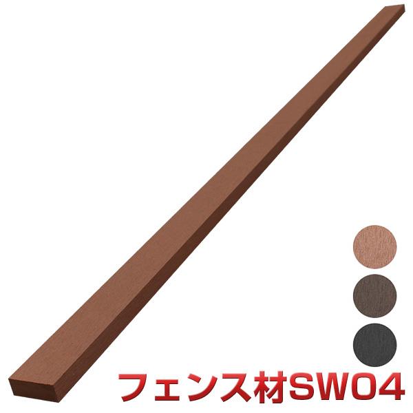 人工木材で樹脂ウッドデッキ作成を応援いたします 全国へ格安にて発送いたします SW04本体 通信販売 18本セット 法人宛 支店留め限定で5000円以上送料無料 人工木材 供え 部材 フェンス材 部品 ウッドデッキ 樹脂ウッドデッキ SW04