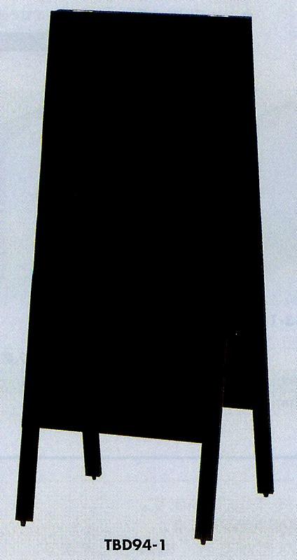 スタンド黒板【TBD94-1】返品・代引不可品[光 チョーク用 黒板 メニュー屋]