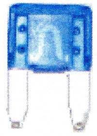 汽车 OE 保险丝 25A 号 [90982-09012 V9119-4305] 透明度决议