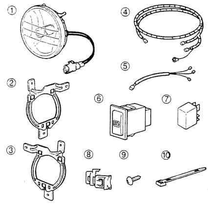 Amazon Com Epauto Led Light Bar Wiring Harness Kit 12v 40a