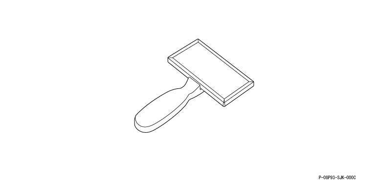 Elysion 盖板 (围裙型) 默顿脸红刷本田纯正配件 elysion [rr1 rr2 rr5 rr6,部分真正本田本田真正本田零件可供选择的座位覆盖