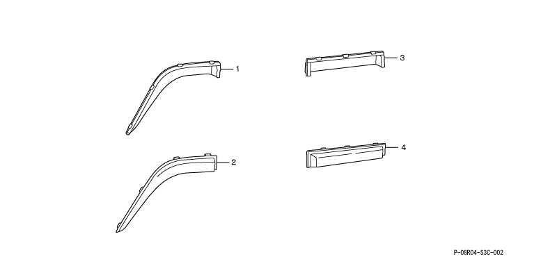 正牌的HM1 HM2门面罩零件本田纯正零部件vamos选项配饰用品
