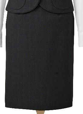 【10%OFFクーポン配布中】プラチナブラックのスカート/cressai(セロリー)/事務服・制服におすすめ/大きいサイズあります|事務 ユニフォーム ユニホーム ビジネス オフィス 企業制服 仕事着 オフィスウェア 事務制服 スカート 制服専科【ラッキーシール対応】
