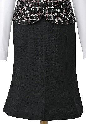 プラチナブラックのスカート/cressai(セロリー)/事務服・制服におすすめ/大きいサイズあります|事務 ユニフォーム ユニホーム ビジネス オフィス 企業制服 仕事着 オフィスウェア 事務制服 スカート 制服専科