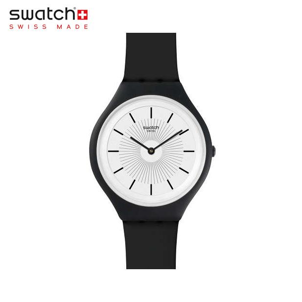 【公式ストア】Swatch スウォッチ SKINNOIR スキンノワール SVUB100Skin (スキン) Skin Big (スキンビッグ) 【送料無料】メンズ レディース 腕時計 人気 定番 プレゼント
