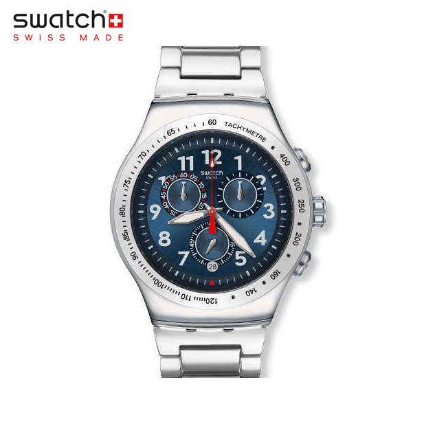 【公式ストア】Swatch スウォッチ BLUE MAXIMUS ブルー・マキシマム YOS455GIrony (アイロニー) Irony the Chrono (アイロニーザクロノ) 【送料無料】メンズ 腕時計 人気 定番 プレゼント