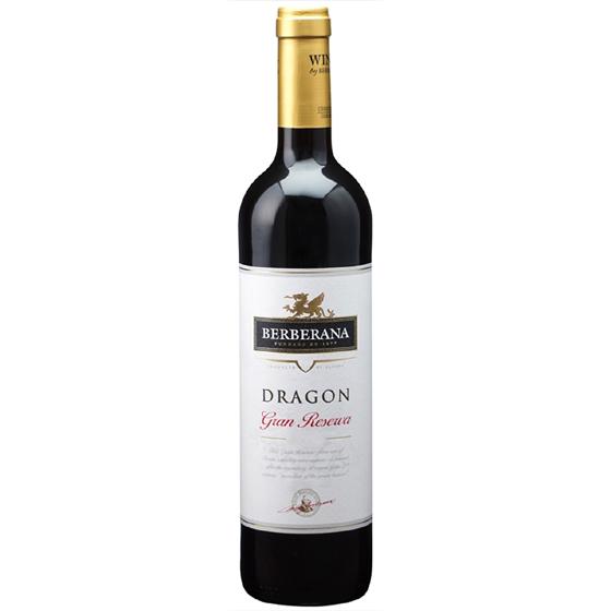 お酒 父の日 ギフト ドラゴン・グラン・レセルバ / ベルベラーナ 赤 750ml 12本 スペイン カタルーニャ 赤ワイン コンビニ受取対応商品 ヴィンテージ管理しておりません、変わる場合があります プレゼント ケース販売 送料無料
