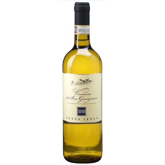 お酒 お中元 ギフト ヴェルナッチャ・ディ・サン・ジミニャーノ / トッレ・テルツァ 白 750ml 12本 イタリア トスカーナ 白ワイン コンビニ受取対応商品 ヴィンテージ管理しておりません、変わる場合があります プレゼント ケース販売 送料無料