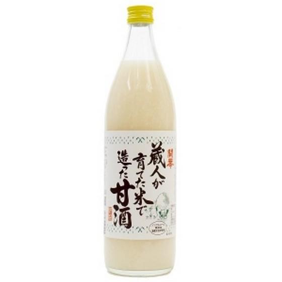 【ラッキーシール対応】母の日 ギフト 開華 蔵人が育てた米で造った甘酒 900ml 12本入り 栃木県 第一酒造 ノンアルコール 甘酒 ケース販売