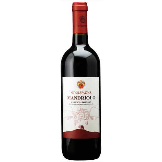 お酒 お中元 ギフト マンドリオーロ / モリスファームズ 赤 750ml 12本 イタリア トスカーナ 赤ワイン コンビニ受取対応商品 ヴィンテージ管理しておりません、変わる場合があります プレゼント ケース販売 送料無料