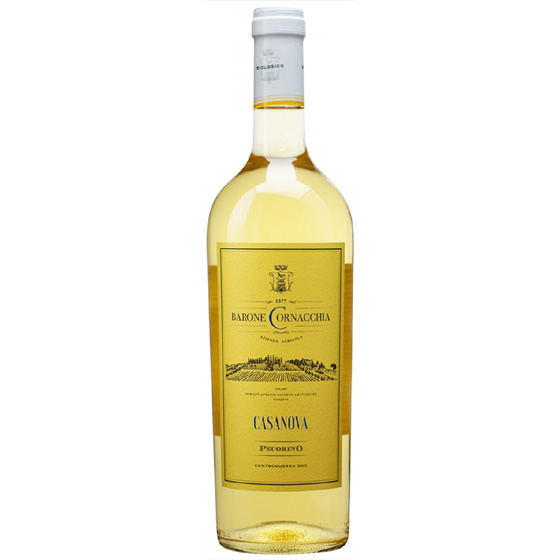 お酒 お中元 ギフト コントログエッラ ペコリーノ / バローネ・コルナッキア 白 750ml 12本 イタリア アブルッツォ 白ワイン コンビニ受取対応商品 ヴィンテージ管理しておりません、変わる場合があります プレゼント ケース販売 送料無料