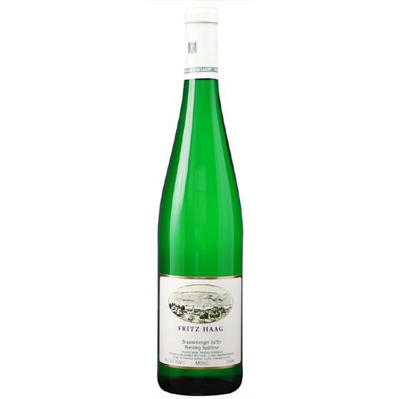 お酒 お中元 ギフト ブラウネベルガー・ユッファー シュペートレーゼ / フリッツ・ハーク 白 甘口 750ml 12本 ドイツ モーゼル 白ワイン コンビニ受取対応商品 ヴィンテージ管理しておりません、変わる場合があります プレゼント ケース販売 送料無料