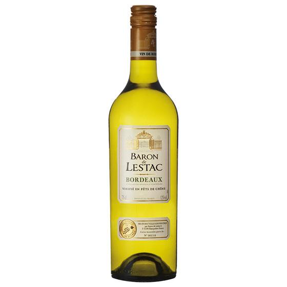 お中元 ギフト バロン・ド・レスタック ボルドー・ブラン / カステル 白 750ml 12本 フランス ボルドー 白ワイン 送料無料 ケース販売 コンビニ受取対応商品 はこぽす対応商品 ヴィンテージ管理しておりません、変わる場合があります