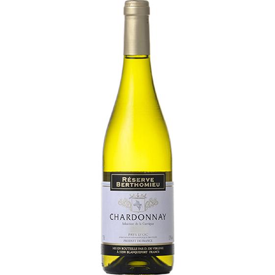 お酒 お中元 ギフト レゼルヴ・ベルトミュー・シャルドネ・セレクション・ド・ラ・ガリグ 白 750ml 12本 フランス ラングドック・ルーション 白ワイン ヴィンテージ管理しておりません、変わる場合があります ケース販売 プレゼント