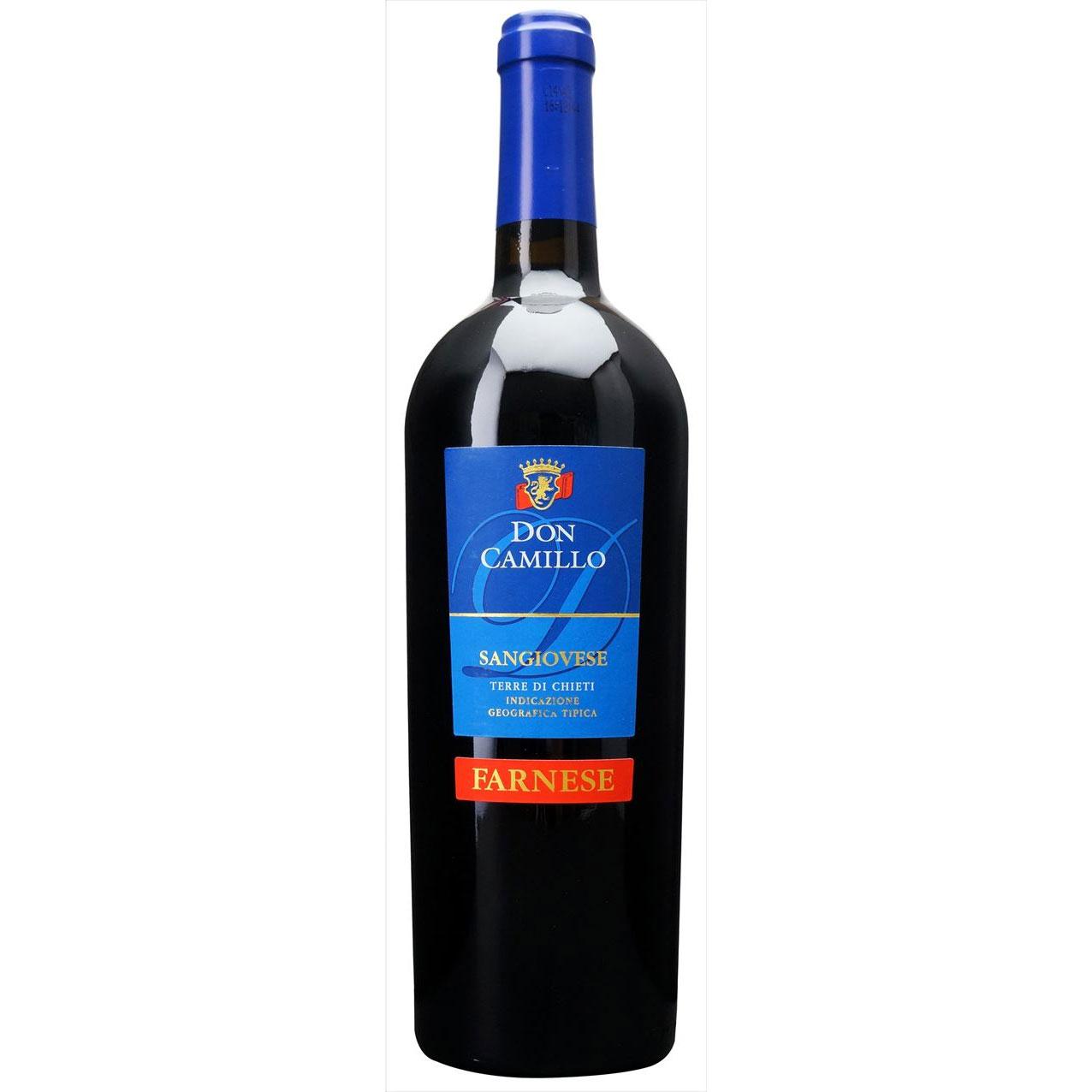 【ラッキーシール対応】母の日 ギフト ドン カミッロ ファルネーゼ 赤 750ml 12本 イタリア アブルッツォ 赤ワイン 送料無料 コンビニ受取対応商品 ヴィンテージ管理しておりません、変わる場合があります