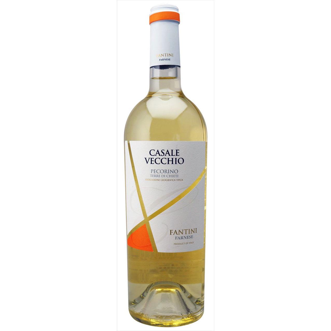 【ラッキーシール対応】お歳暮 ギフト カサーレ ヴェッキオ ペコリーノ  ファルネーゼ 白 750ml 12本 イタリア アブルッツォ 白ワイン 送料無料 コンビニ受取対応商品 ヴィンテージ管理しておりません、変わる場合があります
